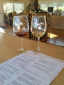 Vineyard View winery Tasting room
