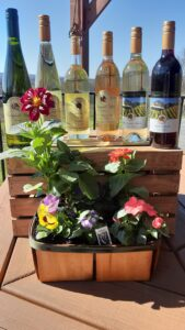 Wine and Flowers Package